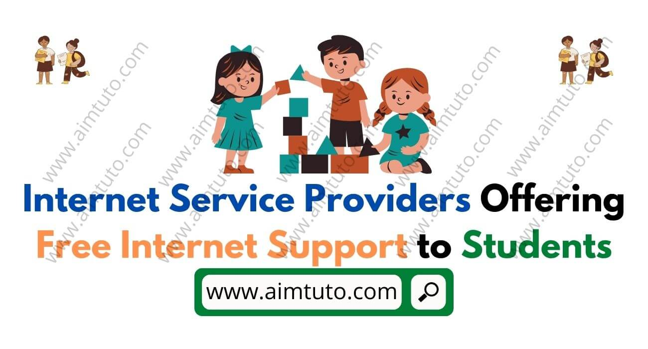 internet service providers offering free internet support to students