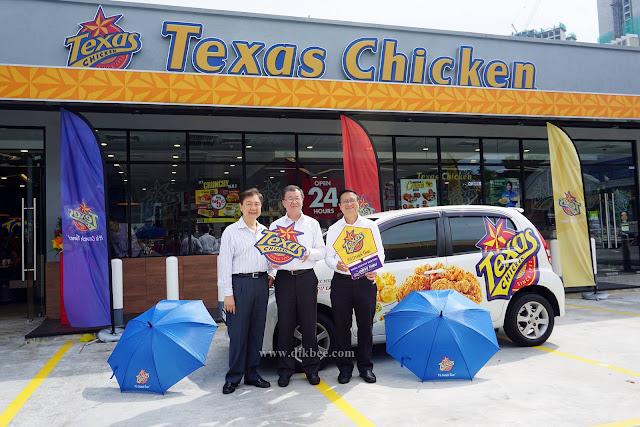Texas Chicken Drive-Thru Pertama Di Lembah Klang