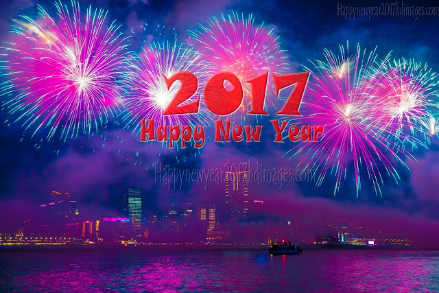 Full HD Happy New Year 2017 Fireworks Wallpapers Download - HD Happy New Year 2017 Best Fireworks Wallpapers Download Free