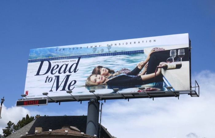 Dead to Me 2019 Emmy consideration billboard