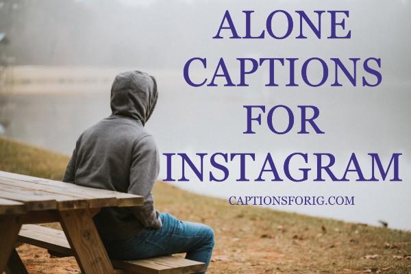 Alone-Captions