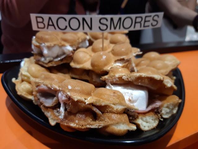 I Love Bubble Waffle SM Marikina