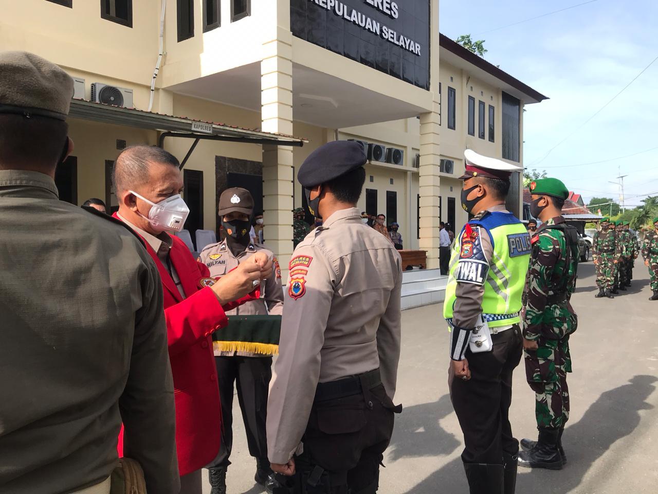 Gelar Apel Pasukan Operasi Nataru 2021, Polres Kepulauan Selayar Dapat Ucapan Terima Kasih
