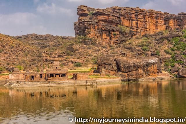 Badami Agastya Lake and Bhottnat Temple