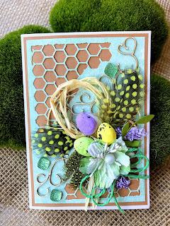 Wielkanocna karteczka 3d