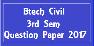 Mdu BTech Civil 3rd Sem Question Papers 2018