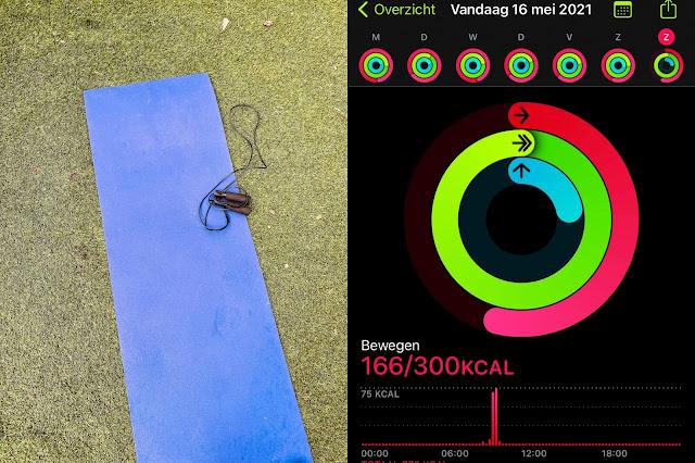 Workout Tuin Activiteiten ringen Apple Watch