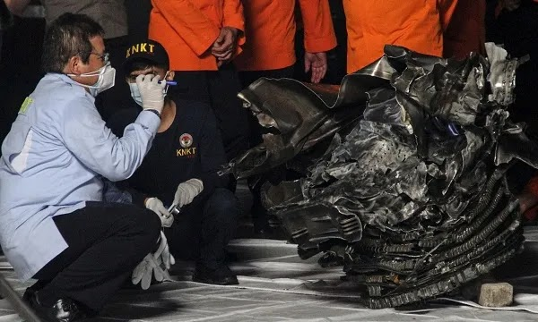 INDONESIA: Investigating Completed on Sri Vijaya Plane Crash