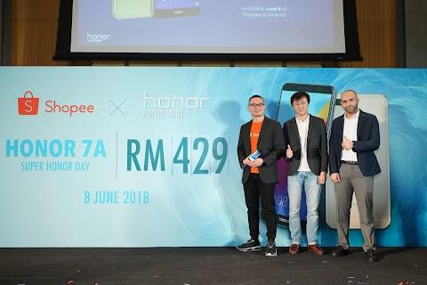 Honor Malaysia Lancarkan Honor 7A & Honor 10 Edisi Phantom Green Secara Eksklusif di Shopee!