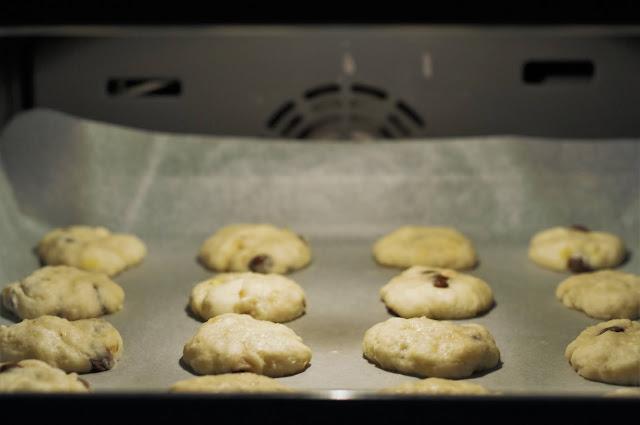 Biscuitii la cuptor
