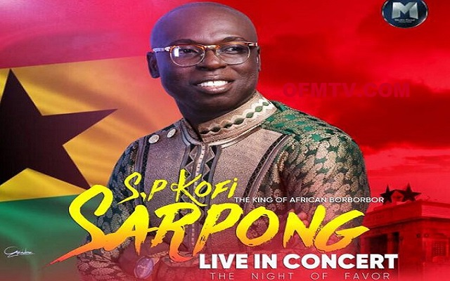 Bishop Obinim buys 300 tickets for 'SP Kofi Sarpong Concert'