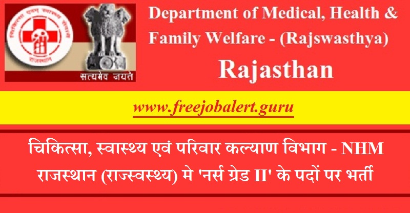 Rajswasthya Recruitment 2018