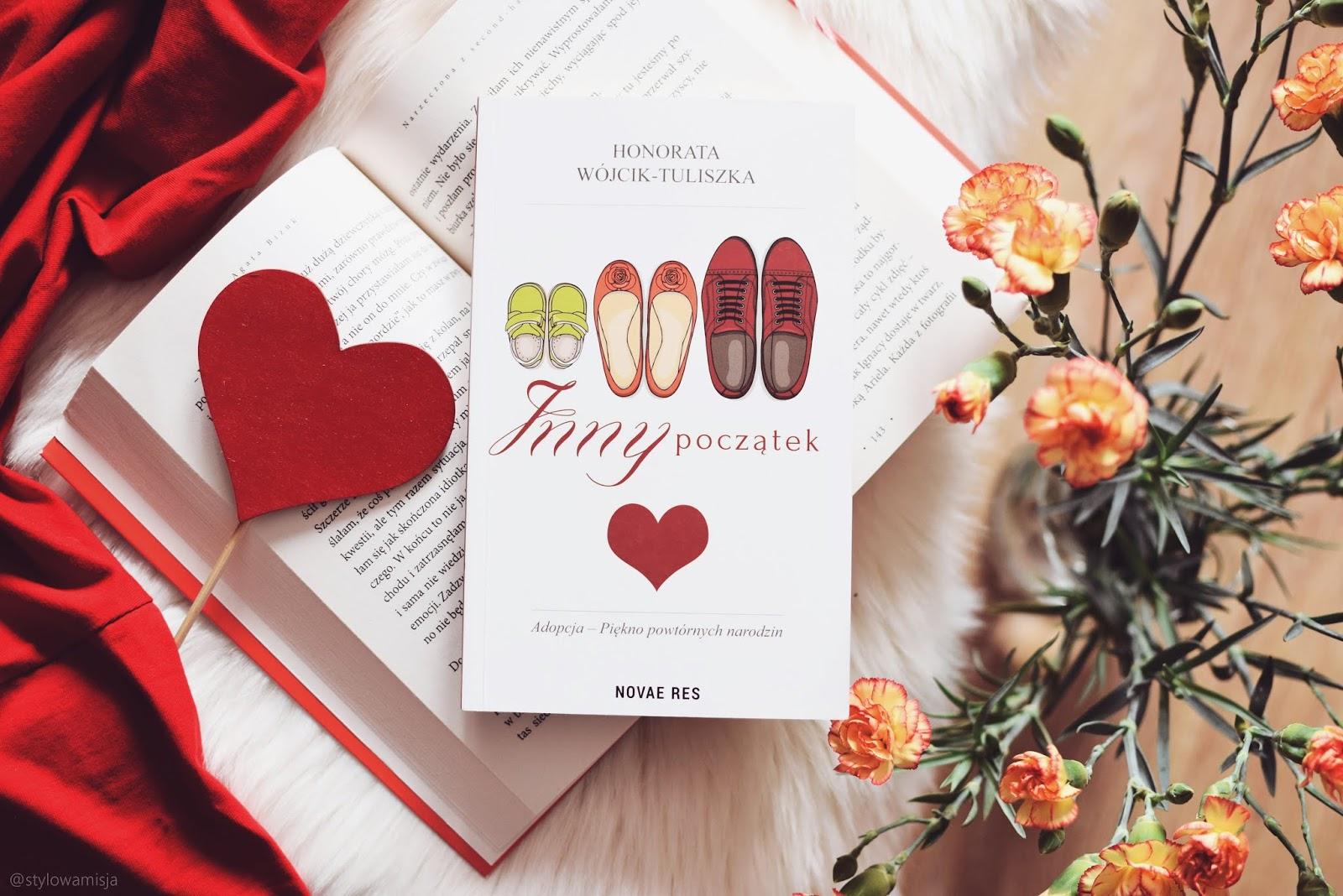 adopcja, HonorataWójcikTuliszka, InnyPoczątek, literaturapiękna, miłość, opowiadanie, recenzja, WydawnictwoNovaeRes,