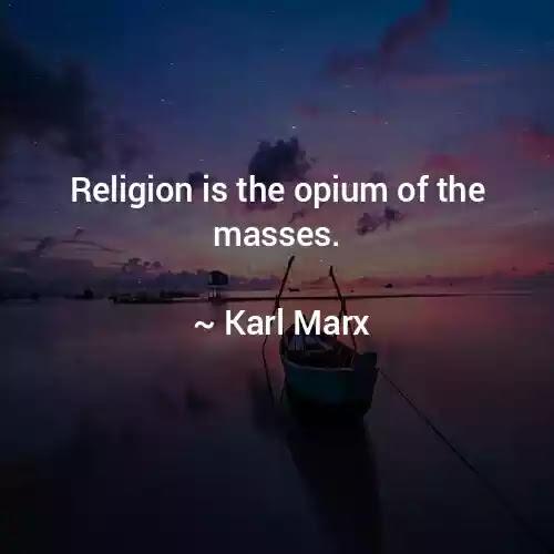 karl marx famous quotes religion