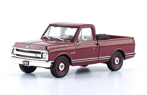 Chevrolet C10 1970 1:43 autos inolvidables argentinos salvat