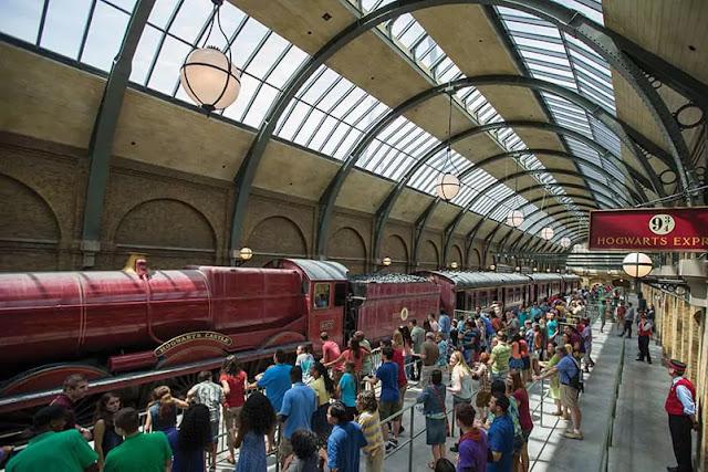 Tratamento na Universal:Harry Potter