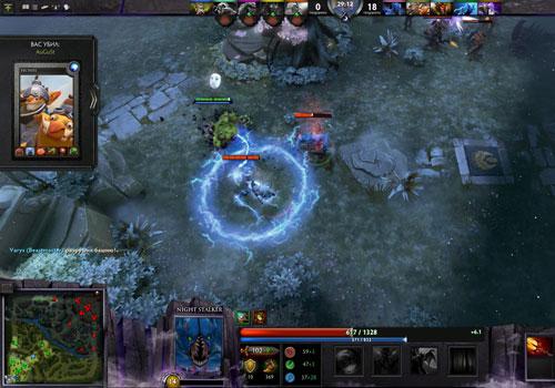 Dota 2 - Captura de un momento del juego
