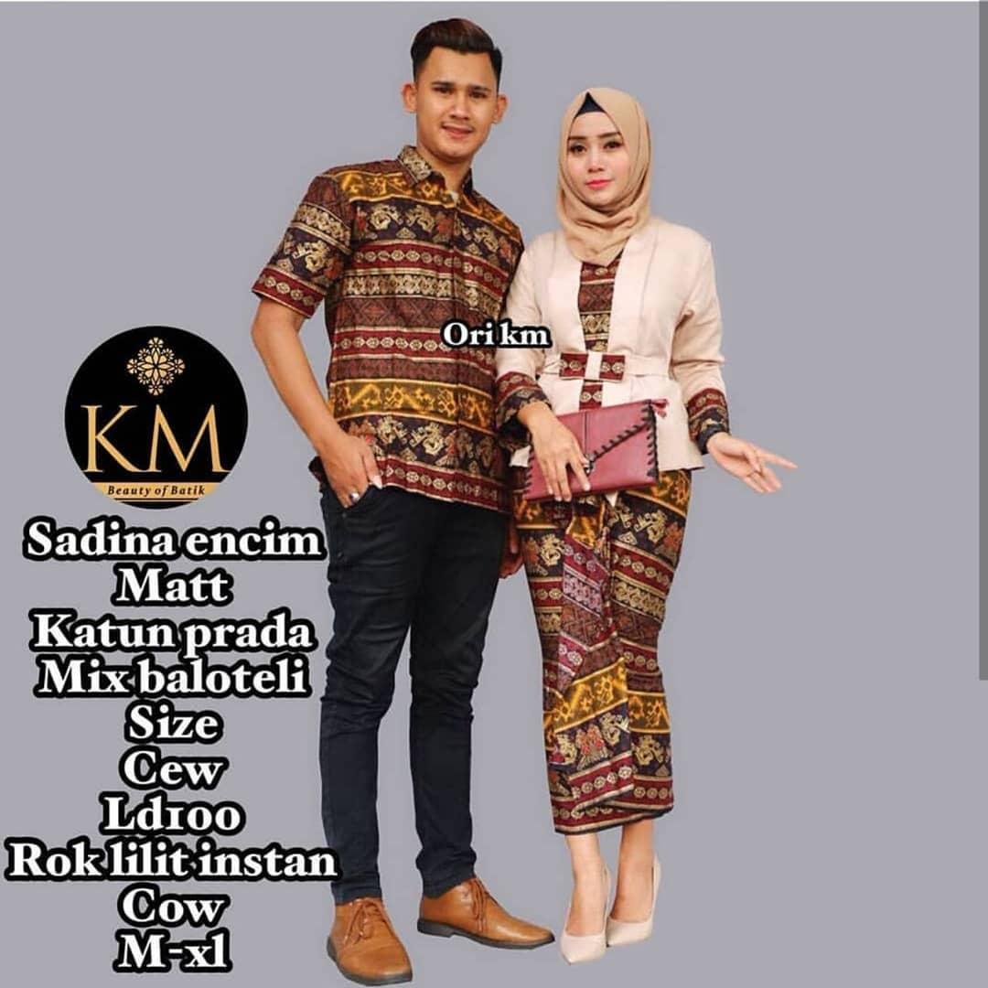Model Baju Batik Kombinasi Terbaik 8 Desain Mewah Dan Modern