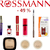 Promocja w Rossmannie -49% od 20.04.2016. Co polecam, co zamierzam wypróbować :)