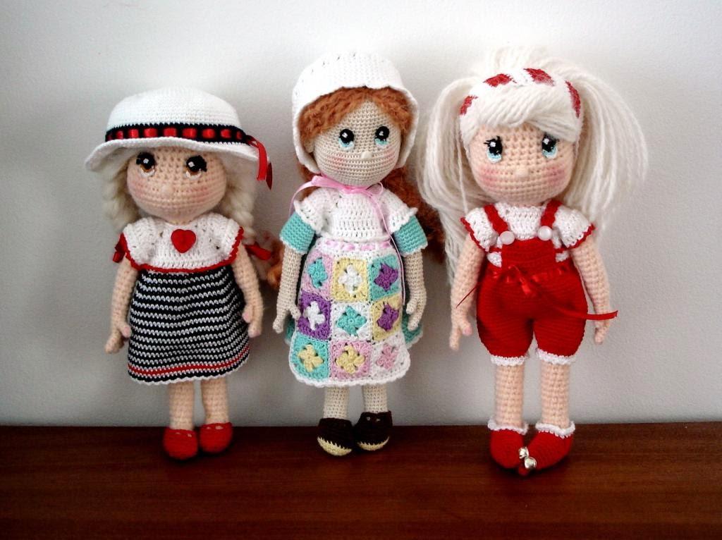 Muñecas Candy [Patrón Gratuito] | Los Enredos de Lyanne