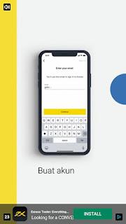 Konsep iklan yang ada di aplikasi android penghasil bitcoin