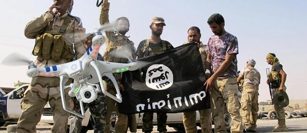 Teknologi ISIS Mulai Gunakan Drone untuk Membunuh Orang dari Jarak Jauh