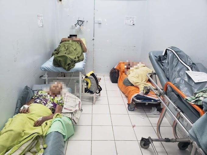 IDOSOS COM COVID-19 SÃO ISOLADOS EM SALA COM PACIENTE MORTO NO AM; 'OLHA O ABSURDO', DIZ FAMILIAR