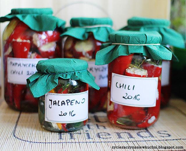 Faszerowane chilli z fetą