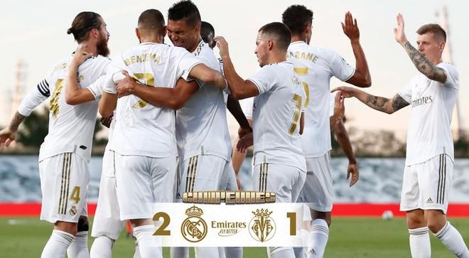 BREAKING:  Official Real Madrid win La Liga title
