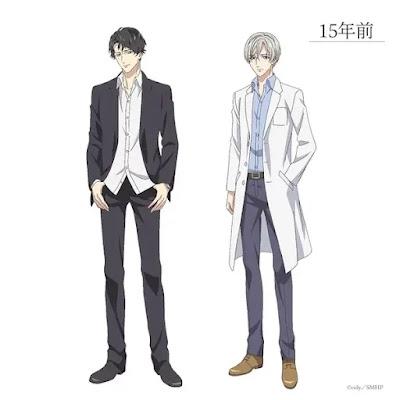 Kenjiro Tsuda interpretará a Masayoshi Ida (izquierda en la imagen de abajo), así como al personaje Yuki Hibya (derecha).