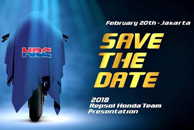 Catat Tanggalnya, 20 Februari 2018 Repsol Honda Team Akan Perkenalkan Tim MotoGP 2018 di Jakarta