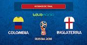 Inglaterra pasa a cuartos de final tras derrotar en penales a Colombia