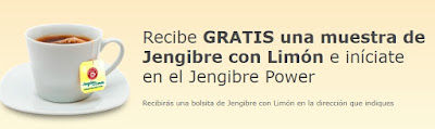 Pide muestras gratis de Pompadour Jengibre y Limón