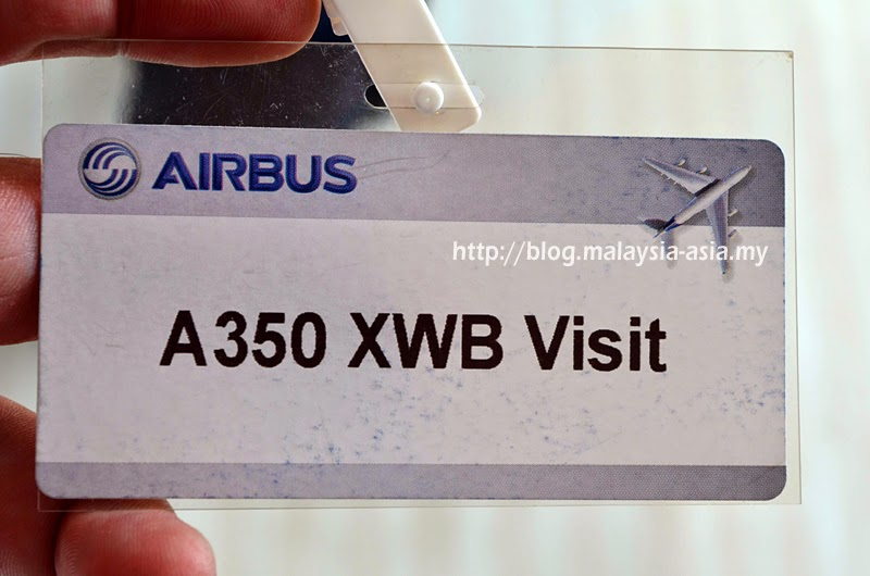 A350 XWB visitor pass Singapore