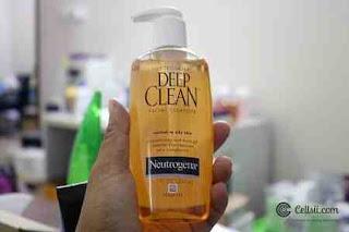 نيتروجينا  Neutrogena Deep Clean Facial Cleanser للبشرة الدهنية