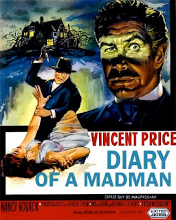 Poster - Diary of a Madman (1963)