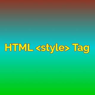 HTML<style>Tag