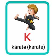 k- alphabet in spanish