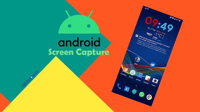 Cum faci o captură de ecran pe un telefon Android