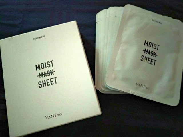 Vant 36.5 Moisturizing Mask Sheet Review