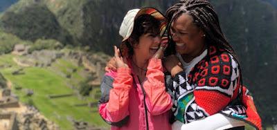 Fernanda Paes Leme e Luana Xavier comandam o programa Viagem a Qualquer Custo, no GNT