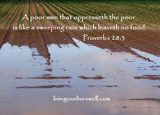 Proverbs 28:3