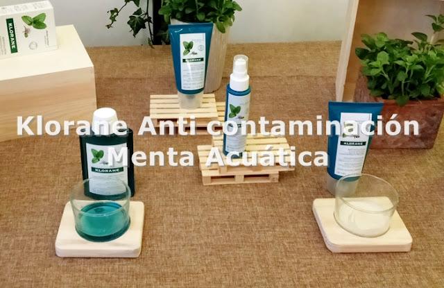 Klorane Antipolucion - Menta acuática