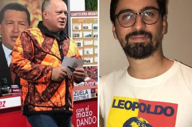 Diosdado Cabello quiere pedir una Fe de Vida de Freddy Guevara a la embajada de Chile
