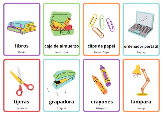 school in Spanish