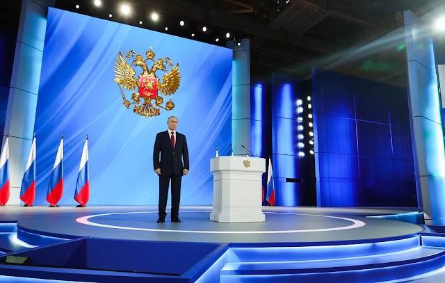 Διάγγελμα Πούτιν: Βάζουν ύαινες να ενοχλούν την Ρωσία, η απάντηση θα είναι γρήγορη και σκληρή
