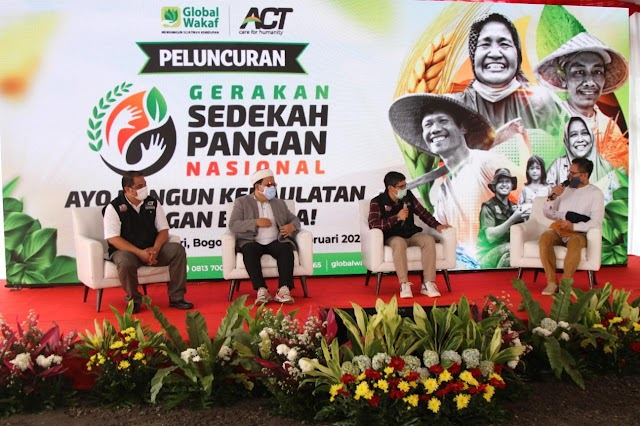 ACT Gagas Gerakan Sedekah Pangan Nasional