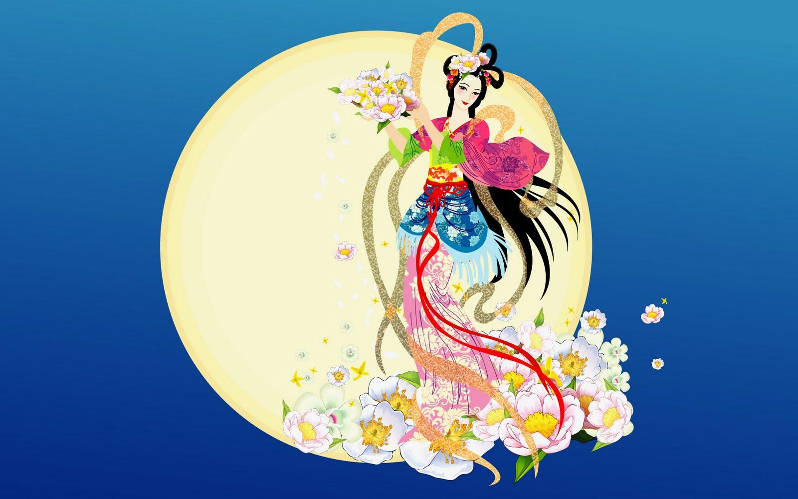Houyi and Chang'e - the Goddess of the Moon