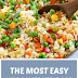 The Most Easy Vegan Fried Rice