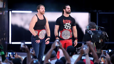 Raw Tag Team Dean Ambrose Seth Rollins Rematch Clause SummerSlam